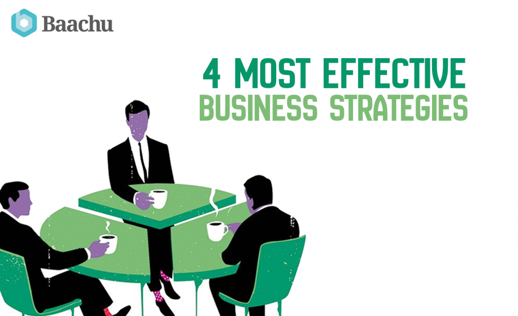 4 most effective business strategies